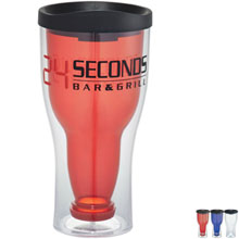 Game Day Bottoms Up Tumbler, 15oz., BPA Free