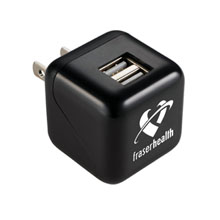 ETL Certified USB Dual Output AC Adapter
