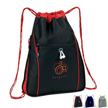 Expandable Drawstring Backpack