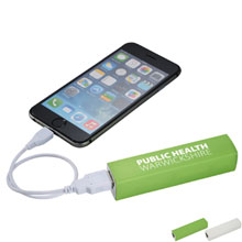Glow in the Dark Amp Charger Power Bank, 2200mAh