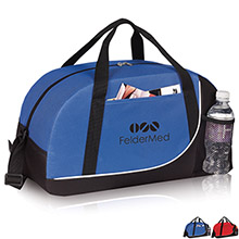 Arc Sporty600D Polyester Travel Duffel, 18""
