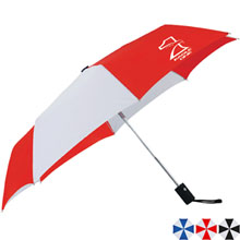 "Cutter & Buck® Auto Open/Close Umbrella, 42"" Arc"