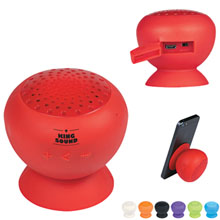 Silicone Speaker with Phone Stand