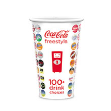 Cold Beverage Paper Cup, 16oz.
