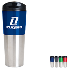 Alcide Travel Tumbler, 16oz., BPA Free - Free Set Up Charges!