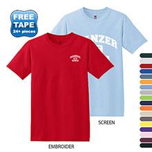 Hanes ComfortSoft® Cotton T-Shirt, Colors