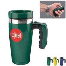 Flashlight Handle Travel Mug, 16oz.
