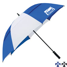 "Cutter & Buck® Vented Golf Umbrella, 62"" Arc"