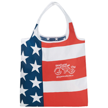 National Foldable Flag Tote