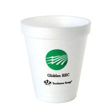 Foam Cup, 8oz.