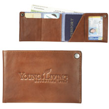 Alternative® Leather Travel Wallet