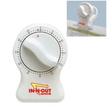 Kitchen Timer Magnetic Memo Clip