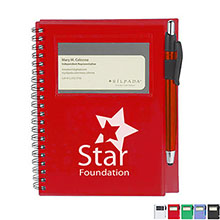Star Spiral Notebook with Pen-Stylus