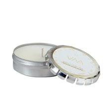 Aromatheraphy Soy Candle in Large Silver Push Tin