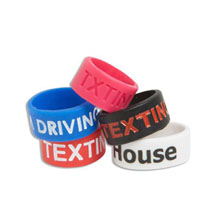 Silicone Awareness Thumb Ring