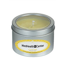 Aromatherapy Soy Candle in Medium Tin