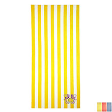 Turkish Signature Mid Weight Cabana Stripe Beach Towel
