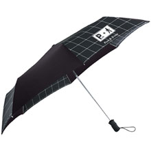 "totes® Window Pane Auto Open Umbrella, 44"" Arc"