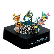 Aquarium-Themed Magnetic Sculpture Block