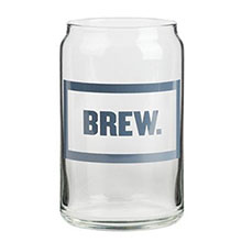 Beer Can Pint Glass, 16oz.
