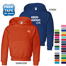 Jerzees Youth 50/50 NuBlend® Fleece Pullover Hood, Colors