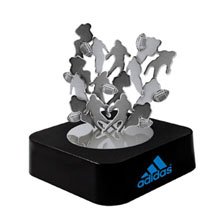 Football-Themed Magnetic Sculpture Block