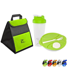 Mix-n-Shake Tumbler & Lunch Container Cooler Set