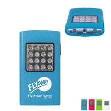 Flat Plastic 16 LED Flashlight