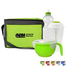 Soup Bowl, Salad Shaker & Water Bottle Cooler Set