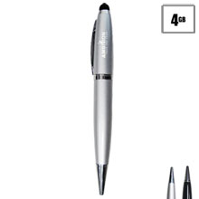 Stylus Pen with USB Flash Drive, 4GB