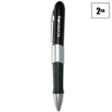 Twist USB Flash Drive Pen, 2GB