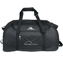 High Sierra® Packable Wheel-N-Go Duffel