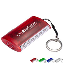 Dual Function Pocket Torch Key Light