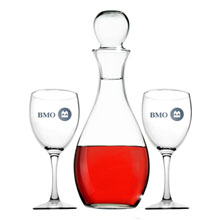 Elegance Glass Decanter Set