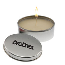 Aromatherapy Candle in Metal Tin, 8 oz.