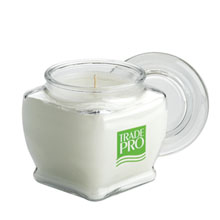 Aromatherapy Candle in Tapered Square Jar, 10 oz.