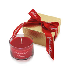 Aromatherapy 5 oz. Candle in Gift Box w/Ribbon