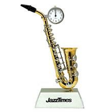 Saxophone Desk Clock