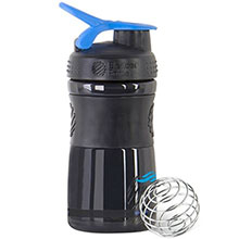 Blender Bottle® SportMixer™ Black, 20 oz.