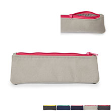 Look Inside Canvas Essentials Pouch