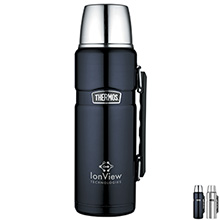 Thermos® Stainless King Beverage Bottle, 40oz. - Free Set Up Charges!