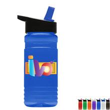 Full Color Tritan™ Bottle with Flip Straw Lid, 20oz.