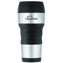 ThermoCafe™ by Thermos®  Travel Tumbler w/ Grip, 16oz. - Free Set Up Charges!