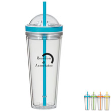 Juicer Tumbler with Straw, 20oz. - Free Set Up Charges!