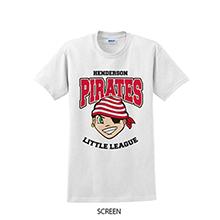Full Color Gildan® 100% UltraCotton™ Short Sleeve Tee, White Shirt