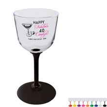 Plastic Wine Glass, 7oz.