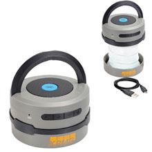 Accordion Lantern Flashlight Bluetooth Speaker