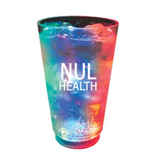 Multicolor LED Pint Glass, 16oz.