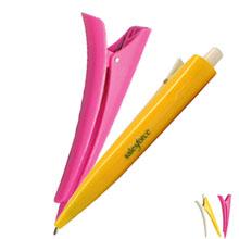 Hair Clip Ballpoint Clicker Pen