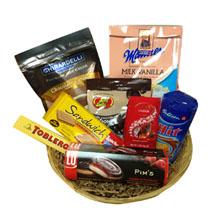 Winter Chocolate Basket